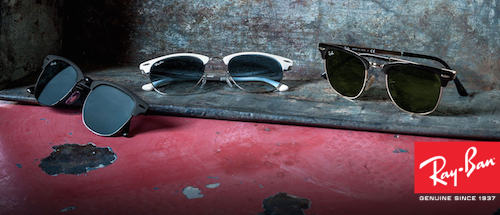 82915122fd0b8a Nieuwe klassieker  Ray-Ban Clubmaster Metal zonnebril